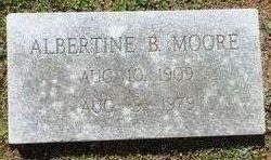 Albertine Bell <i>Barrett</i> Moore