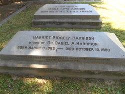 Harriet Moore <i>Ridgely</i> Harrison