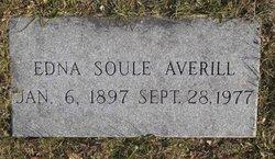 Edna <i>Soule</i> Averill