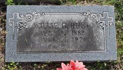 William G. Willie Rust