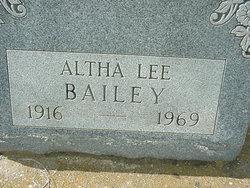 Altha <i>Lee</i> Bailey