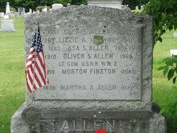 Martha A. <i>Foster</i> Allen
