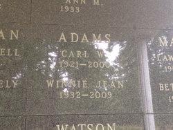 Carl W. Adams