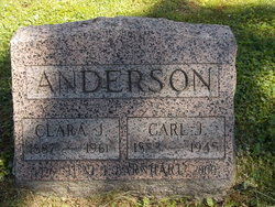 Clara J Anderson