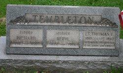 Lieut Thomas E Templeton