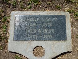 Harold Haughton Best