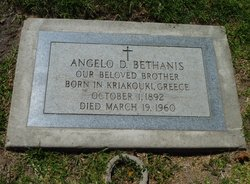 Angelo D Bethanis