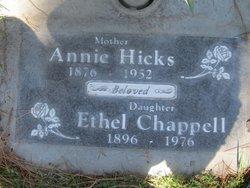 Ethel Irene <i>Hicks</i> Chappell