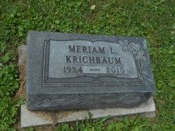Miriam <i>Frey</i> Krichbaum