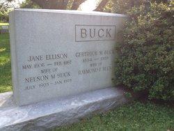 Jane <i>Ellison</i> Buck