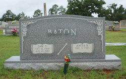 Anita <i>Burton</i> Baton