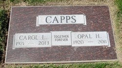 Opal H. <i>Stockard</i> Capps