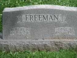 Opal Lucille <i>Stout</i> Freeman