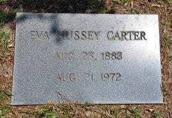 Eva <i>Hussey</i> Carter
