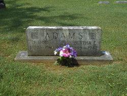 Bertha E <i>Queen</i> Adams