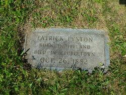 Patrick Lyston