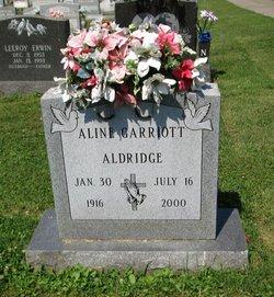 Aline M. <i>McDole</i> Aldridge