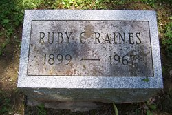 Ruby Margaret <i>Clark</i> Raines