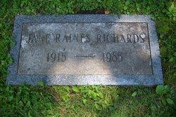Jane <i>Raines</i> Richards