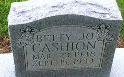 Betty Jo <i>Wooldridge</i> Cashion