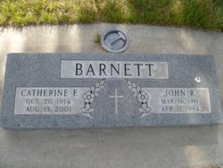 Catherine F. <i>Shepard</i> Barnett