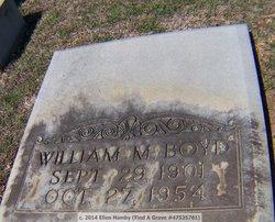 William Madison Boyd, Sr