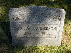 Hulda M Anderson