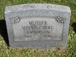 Minnie <i>Oberg</i> Anderson