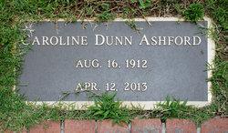Caroline Winder <i>Dunn</i> Ashford