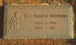 Ola <i>Branch</i> Andrews