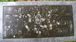 Ettie Ophelia <i>McMinnion</i> Burks