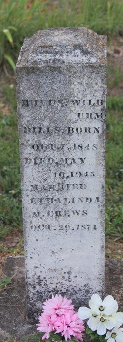 Rufus Wilburn Uncle Rufus Dills