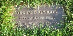 Thomas D Reynolds