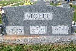 Lovie Estelle <i>Witt</i> Bigbee