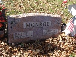 Maxine Dorothy <i>Cline</i> Monroe