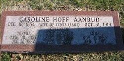 Caroline T <i>Hoff</i> Aanrud
