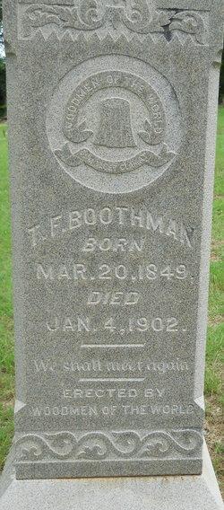 Thomas F Boothman