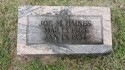 Joseph M Haines