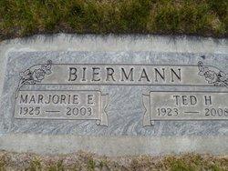 Marjorie E. <i>Wegner</i> Biermann