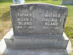 Eleanor Virginia <i>Phillips</i> Bland