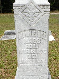 Minnie Lee <i>Adams</i> Nabb