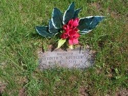 Edith S <i>Wickman</i> Krueger