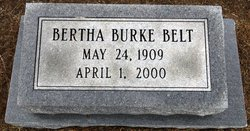 Bertha <i>Burke</i> Belt