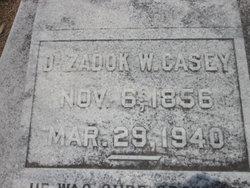 Dr Zadock Wolf Casey