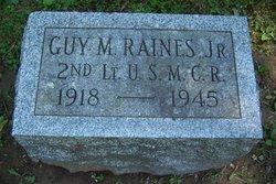 Lieut Guy M Raines, Jr