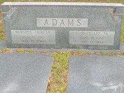 Bernice <i>Mercer</i> Adams