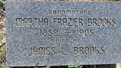 Martha Mattie <i>Frazier</i> Brooks