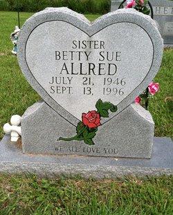 Betty Sue <i>Daniels</i> Allred