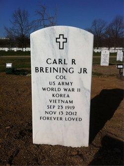 Col Carl R Breining, Jr