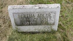 Bertha Adler